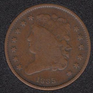 1835 - Classic Head Demi Cent