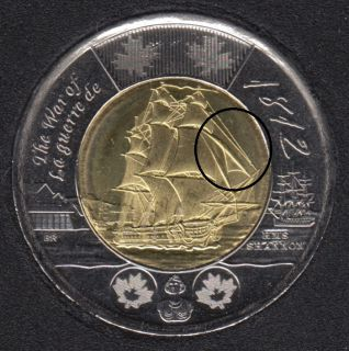 2012 - B.Unc - Shannon - Voile Extra - Canada 2 Dollars