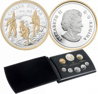 2012 Fine Silver Proof Set - 200th anniversary of the War of 1812