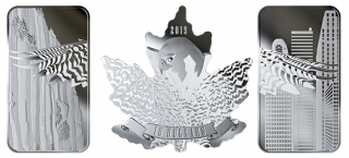 2019 - Pure Silver 3-Coin Set - Wings of Hope