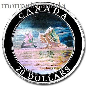 2004 - $20 Fine Silver Coin Iceberg - Tax Exempt