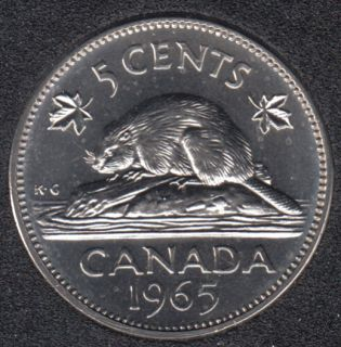 1965 - Proof Like - Canada 5 Cents