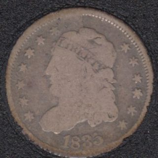 1835 - Capped Bust - Half Dime