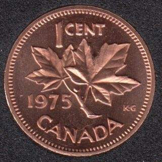 1975 - Proof Like - Canada Cent