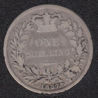 1837 - Shilling - Great Britain
