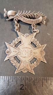 #116 Progress SYMS 1913 Medal