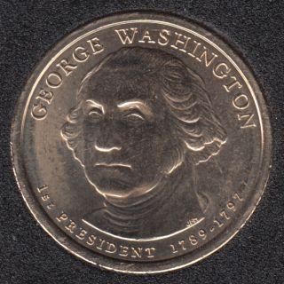 2007 D - G. Washington - 1$