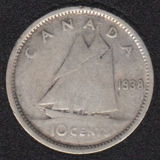 1938 - Canada 10 Cents