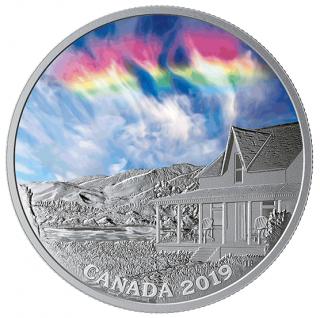 2019 - $20 - 1 oz. Pure Silver Coin - Fire Rainbow: Sky Wonders