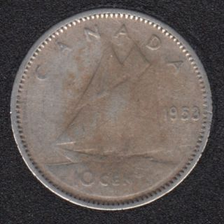 1953 - NSF - Canada 10 Cents