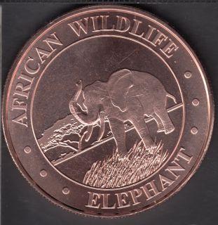 Elephant - 1 oz .999 Fine Copper