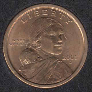2001 D - Sacagawea - Dollar