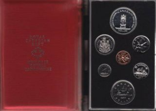 1977 CANADA DOUBLE DOLLAR SPECIMEN SET