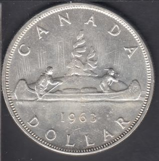 1963 - EF - Canada Dollar