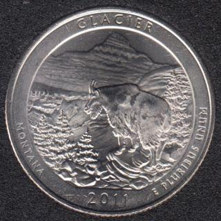 2011 D - Glacier - 25 Cents