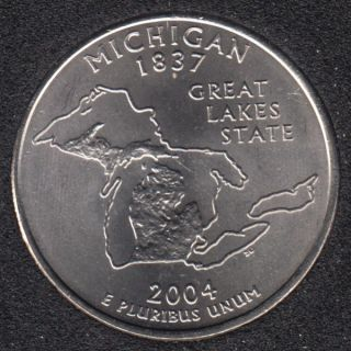 2004 P - Michigan - 25 Cents