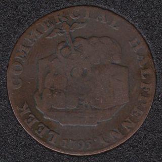 1793 - Condor - Commercial Half Penny - Token