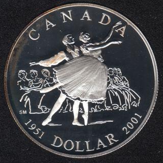 2001 - Proof - Argent - Canada Dollar