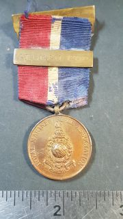 #78 Royal Marines Rifle Association 1929 Aegean Cup medal gibraltar