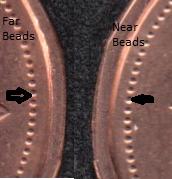 1984 - B.Unc - Near Beads & Far Beads - Canada Cent