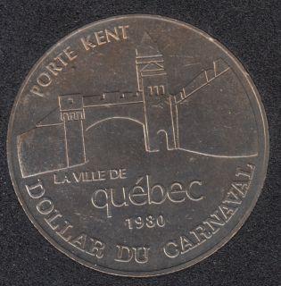 Quebec - 1980 Carnaval de Québec - Eff. 1962 / Porte Kent - Dollar de Commerce