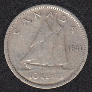 1941 - Canada 10 Cents