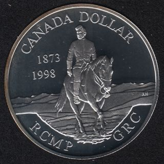 1998 - Proof - Argent  - Canada Dollar