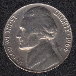1964 - Jefferson - 5 Cents