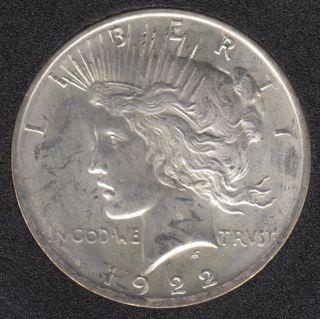 1922 - Peace - B.Unc - Dollar