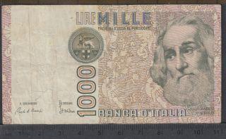 1982 - 1000 Lire - Italie