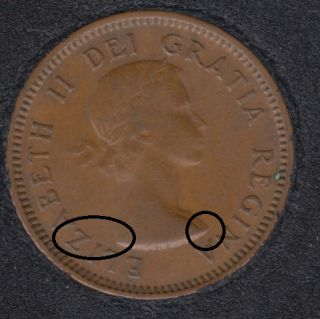 1953 - NSF - Break Bust to Z - Canada Cent
