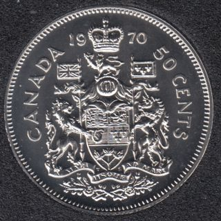 1970 - Proof Like - Canada 50 Cents
