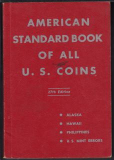 1960 - American Standard Book of All U.S. Coins - Use