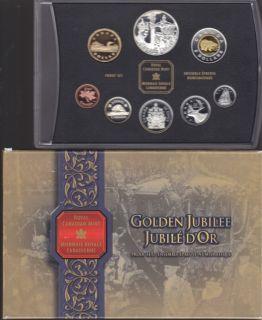2002 Proof Set -Golden Jubilee