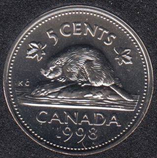1998 W - NBU - Canada 5 Cents