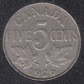 1926 - Far 6 - Canada 5 Cents