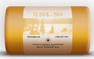 2011 Canada 50 Cents - BU Rouleau 25 pièces - Emballage Spécial