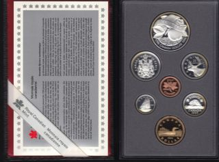 1996 CANADA DOUBLE DOLLAR PROOF SET