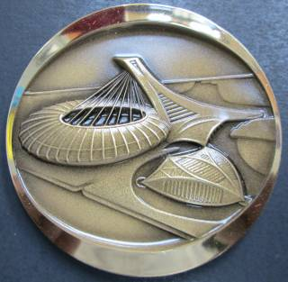 1976 Canada - Official Bronze Medallion  - Montreal - Olympic Games