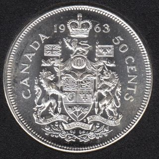 1963 - B.Unc - Canada 50 Cents
