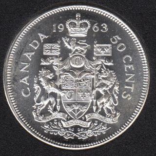 1963 - B.Unc - Canada 50 Cents
