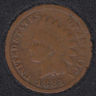 1884 - Indian Head Small Cent