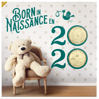 2020 - Baby 6-Coin Gift Card Set