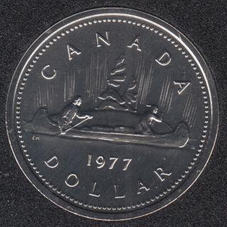 1977 - #3 NBU - DET, JEW. SWL. - Nickel - Canada Dollar