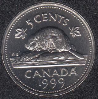 1999 P - NBU - Canada 5 Cents
