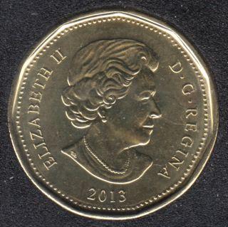 2013 - B.Unc - Canada Huard Dollar
