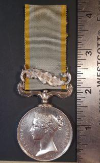 #1-221 Crimea Medal 1854-56 - Clasp ALMA