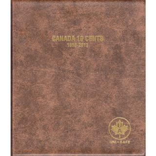 Album Canada Uni-Safe 10 Cents 1858-2013
