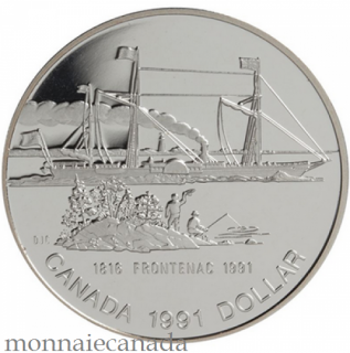 1991,SILVER DOLLAR PROOF