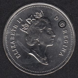 1994 - B.Unc - Dot in 'G' - Canada 50 Cents